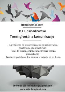 O.L.I. psihodinamskitrening